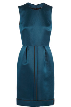 Fendi Duchesse-silk dress