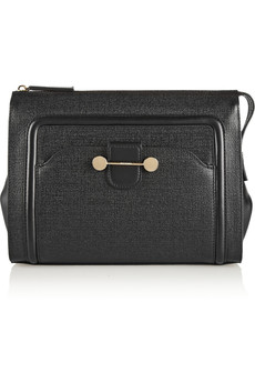 Jason Wu Daphne 2 textured-leather clutch