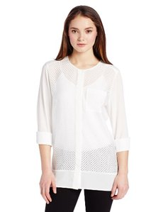 Calvin Klein Women's Perforated Tunic