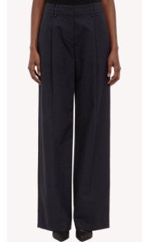 Proenza Schouler Single-Pleated Wide-Leg Trousers