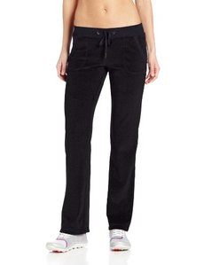 Danskin Women's Velour Boot Cut Pant