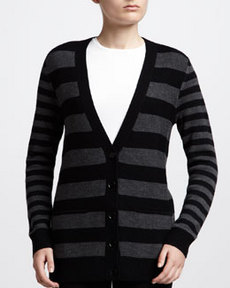 Jason Wu Striped Cardigan