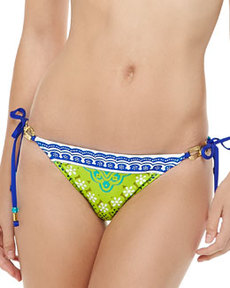 Trina Turk Seychelles Tie-Side Hipster Bottom