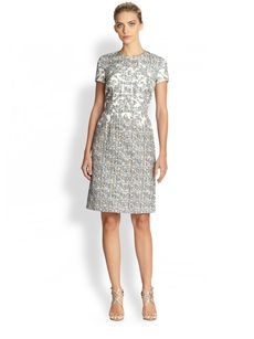 Escada Dessna Printed Dress