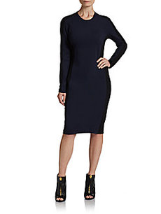 3.1 Phillip Lim Long-Sleeve Shadow Dress