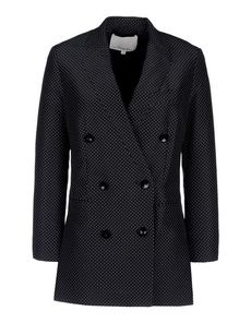 3.1 PHILLIP LIM Polka dots V-neckline Buttoned cuffs Three pockets Button closing Dual back vents Lined Darts Front closure Crêpe Long sleeves Crêpe Woven not made of fur Long sleeves