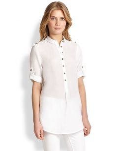 Burberry Brit Cotton Tunic