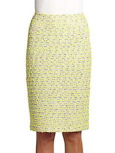 St. John Park Lane Tweed Skirt