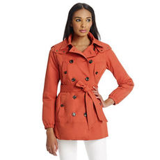 Mid Length Trench Coat