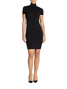 Akris Punto Mock Neck Knit Dress