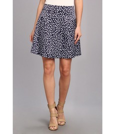 kensie Striped Dots Skirt