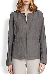 Eileen Fisher Crinkled Jacket