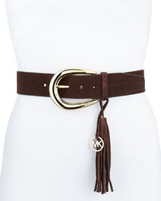 MICHAEL Michael Kors 45mm Logo Tassel Belt