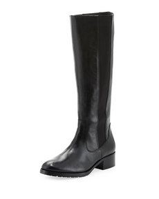 Donald J Pliner Buriel Riding Boot, Black