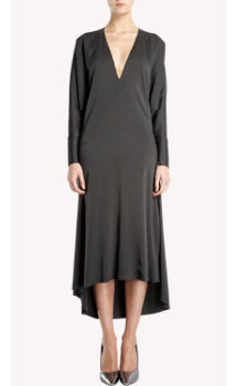 Lanvin Dolman Sleeve V-neck Dress