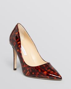 DIANE von FURSTENBERG Pointed Toe Pumps - Bethany High Heel