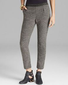 Free People Pants - Metallic Knit Milo Shimmer