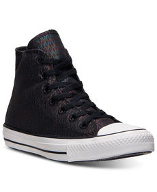 Converse Women's Chuck Taylor Hi Snake Metallic Casual Sneakers from Finish Line