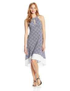 Laundry by Shelli Segal Women's Seville Hi-Low Cover Up Dress