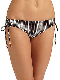 Shoshanna Cape York Beaded Bikini Bottom
