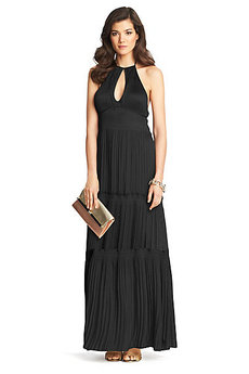 Aden Pleated Tier Dress