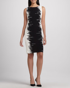 Lafayette 148 New York Faith Georgette Contour Dress