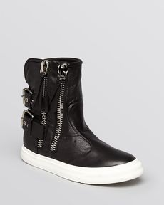 Giuseppe Zanotti High Top Sneakers - London Buckle Boot