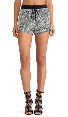 Robert Rodriguez Cheetara Track Shorts in Black