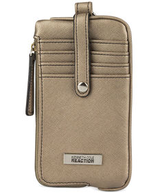 Kenneth Cole Reaction Tab Key Ring Pouch Wallet