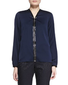 Sharon Silk V-Neck Blouse   Sharon Silk V-Neck Blouse