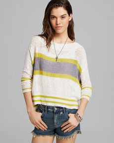 Free People Pullover - These Days Stripe