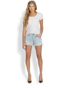 Genetic Stevie Distressed Denim Shorts