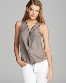 Trina Turk Tank - Karmandy Silk