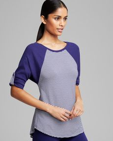 Splendid Intimates Top - Dolman Sleeve Raglan