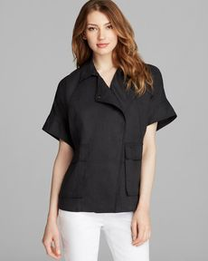 Eileen Fisher Classic Short Sleeve Jacket
