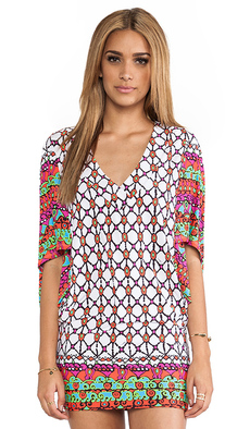 Trina Turk Venice Beach Tunic Cover Up in White