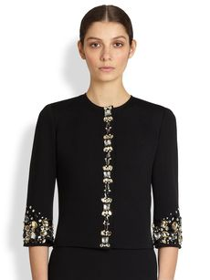 St. John Jeweled Jacket