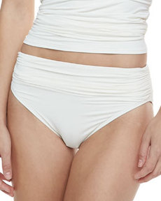 Carmen Marc Valvo Malawi Kingdom Ruched Swim Bottom