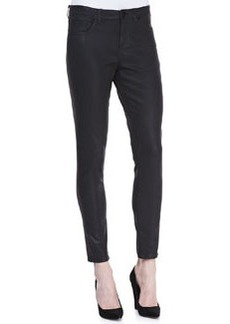 Elie Tahari Selena Waxed Slim-Leg Jeans