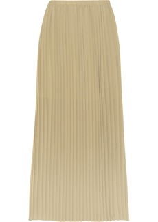 MICHAEL Michael Kors Pleated chiffon maxi skirt