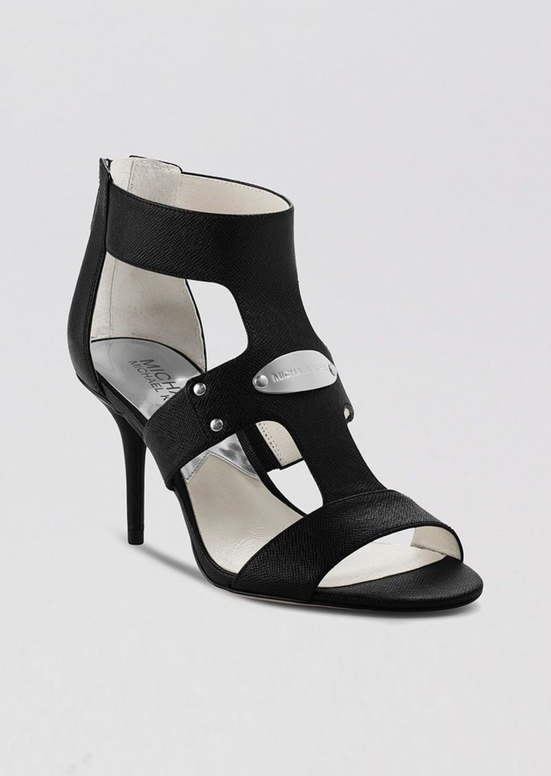 MICHAEL Michael Kors Open Toe Sandals - Lexi High Heel