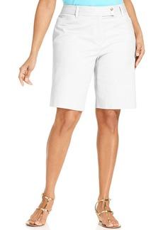Charter Club Plus Size Bermuda Shorts