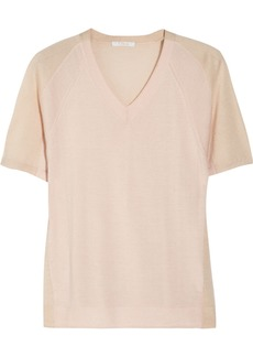 Chloé Cashmere and silk-blend top