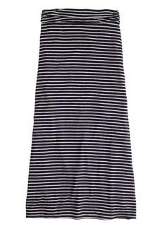 Maxiskirt in stripe