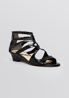 Via Spiga Open Toe Demiwedge Sandals - Tamia