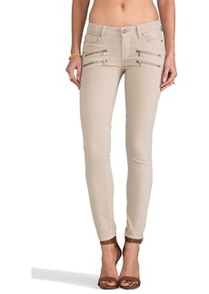 Paige Denim Edgemont Ultra Skinny in Desert Khaki