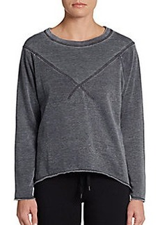 MARC NEW YORK by ANDREW MARC Performance Hi-Lo Sweatshirt