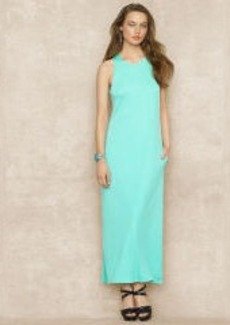 Sleeveless Jersey Maxidress