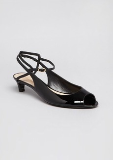 Delman Peep Toe Pumps - Hope