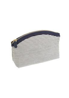 Stripe medium pouch